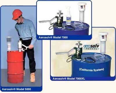Aerosolv Recycling System