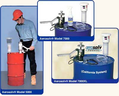 Aerosolv Recycling System Ram Flat
